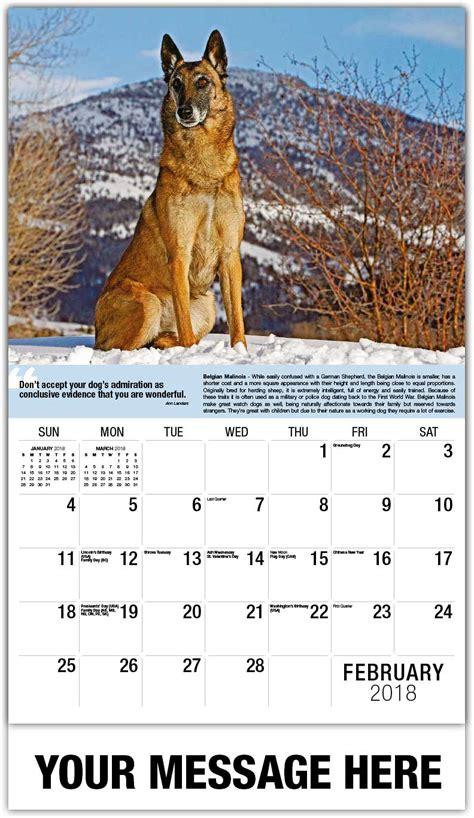 Calendar 2018 Dogs Dogs Calendar Quot S Best Friend Quot 65 162 Advertising