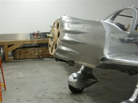 Sheet Metal Aircraft by Cowling Fitup And Planishing
