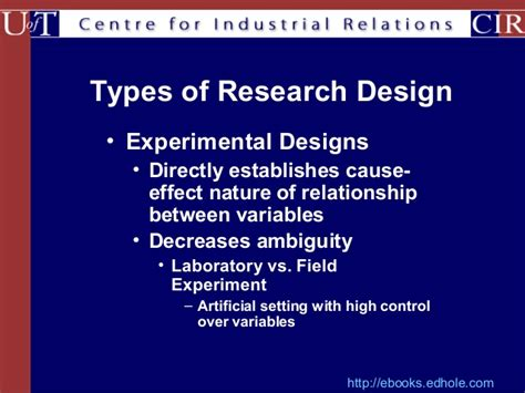 Types Of Research Methodology Mba by Types Of Research Designs