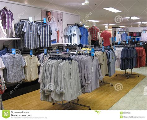 mens clothing store editorial photo image 30717501