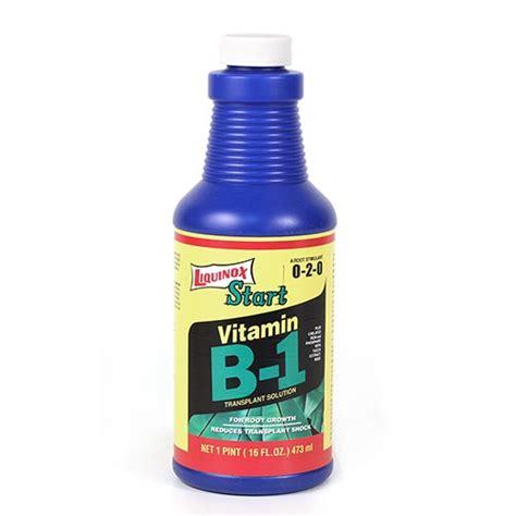 Liquinox Start Vitamin B1 Msds liquinox start with vitamin b 1