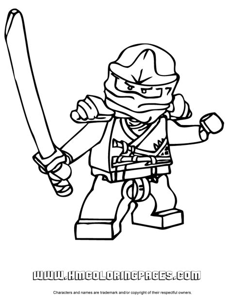 Zane Ninjago Coloring Page Free Printable Pages Free Printable Lego Ninjago Coloring Pages