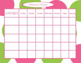 personalized chore chart for children modern dots jpeg or