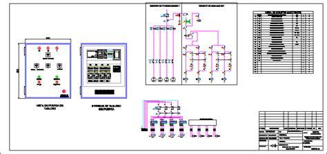 Tablero electrico andamio movil en AutoCAD   CAD (319.06