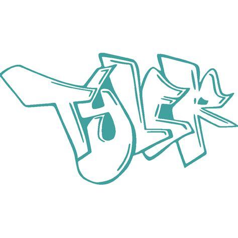 Wall Sticker Transparant 29 stickers news graffiti stick