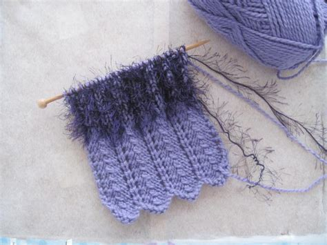 knitting with fur fur knit patterns