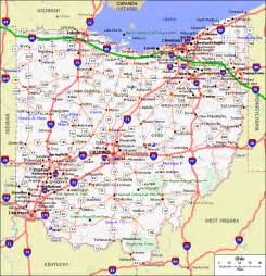 ohio to map printable map of state map of ohio state map free