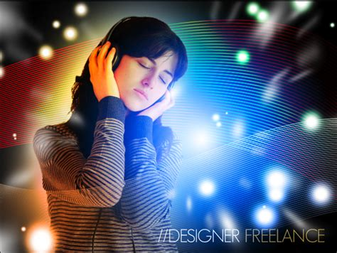 photoshop tutorial yellow light collection of light effects tutorials for adobe photoshop