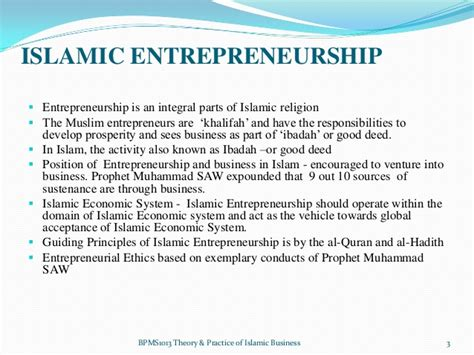 I Am A Muslim Entrepreneur chapter 4 entrepreneurship and islamic business