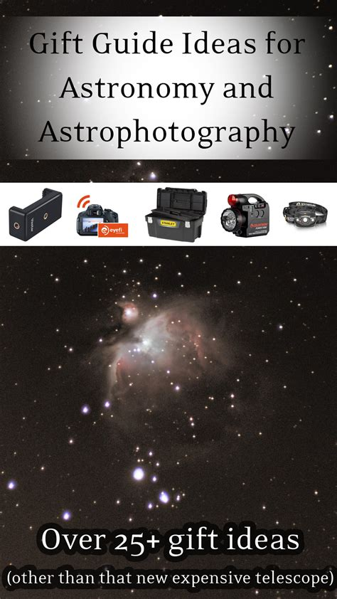 gift guide ideas for astronomy astrophotography holiday