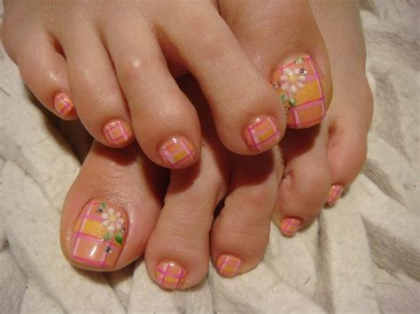 Toe Nail Designs Step By Step