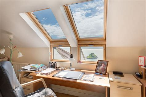 let there be light skylights offer natural light to your house office designs with skylights a neat way to welcome