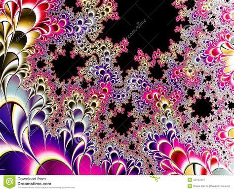 tessuto a fiori fondo nel modello tessuto fiori illustrazione di
