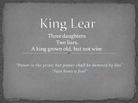themes and quotes in king lear king lear