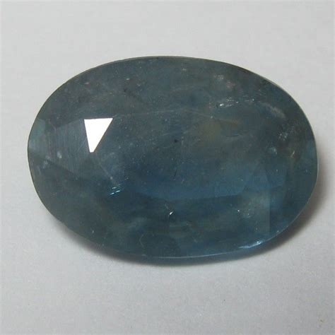 Blue Sapphire Safir Medium Blue batu permata sapphire biru medium oval cut 2 50 carat