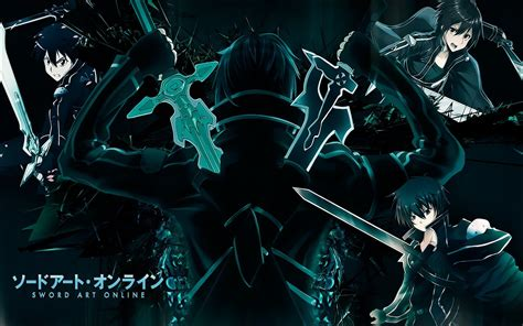 blue black rpg weapons anime anime boys swords