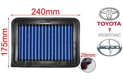 Air Filter Toyota Vios Works Air Filter Toyota Vios 1 5 07 On Altis 1 6 1 8 07 On Yaris Works Engineering