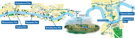 thames river bus map thames river services sight seeing tours