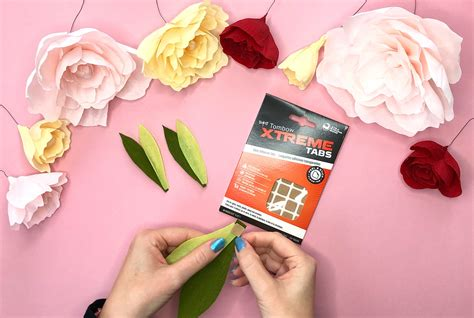 How Can We Make Paper Flowers - easy to make paper flowers tombow usa
