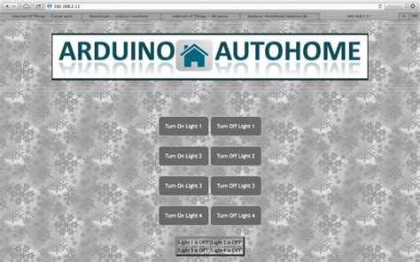 open source home automation project using arduino uno