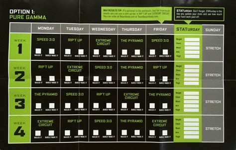 printable t25 schedule t25 calendar gamma hybrid www pixshark com images
