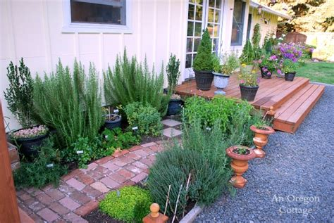 backyard herb garden the backyard makeover reveal an oregon cottage