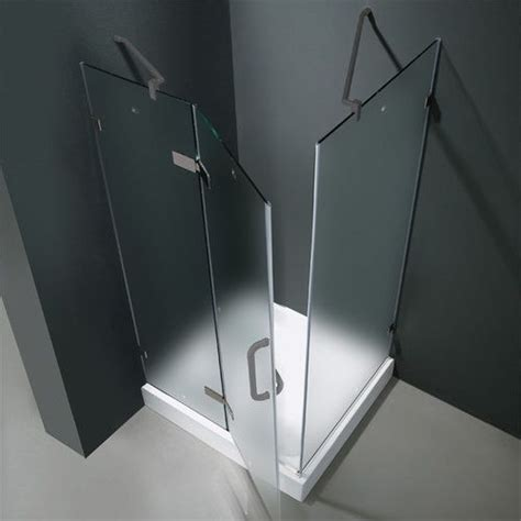 32x32 Shower Stall Frameless Glass Vigo Vg6011bnmt32wl 32x32 Frameless Glass
