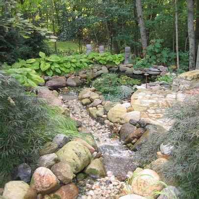 River Bed Landscape by Riverbed Landscaping Landscaping A River Bed