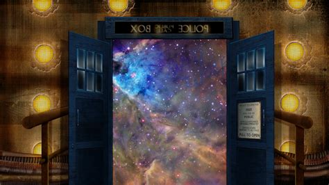 doctor who wallpaper and the tardis at make it personal 10th doctor tardis wallpaper by xxtayce on deviantart