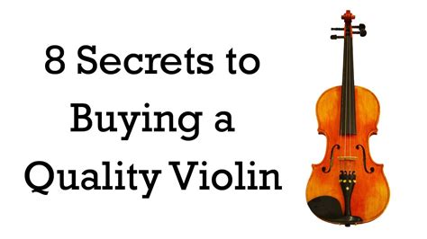 what to watch out for when buying a house 8 secrets to buying a quality beginner violin youtube