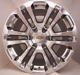 Wheels Truck Accessories 4 New 2016 Chevy Silverado Suburban Tahoe Avalanche Chrome