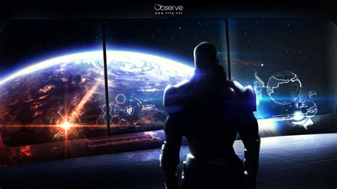 Out Of This World Without Any Space Influence In Sight by Mass Effect Earth Wallpaper 1196210