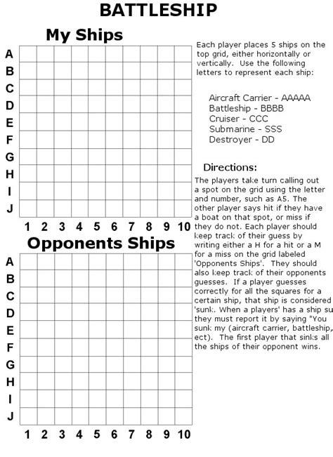 How To Make A Paper Battleship - battleship print out related keywords battleship print