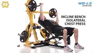 underhand bench press wb ls powertec levergym