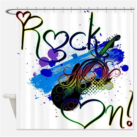 rock n roll curtains rock and roll shower curtains rock and roll fabric