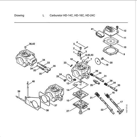 stihl ms200t parts diagram stihl 08 chainsaw parts diagram stihl 032 chainsaw parts