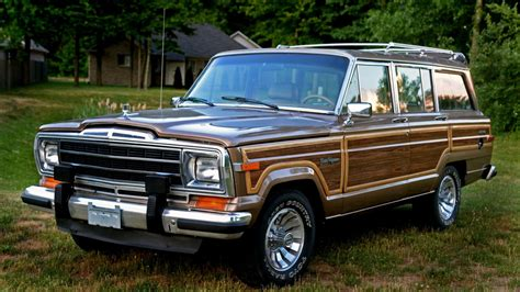 jeep wagoneer woody wagoneer autos post
