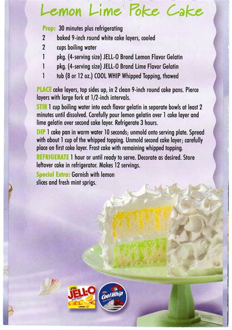 Can I Use Lime Instead Of Lemon For Detox by Lemon Lime Poke Cake Or You Can Combine Or Use Your