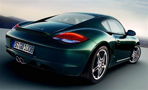 porsche cayman green porsche cayman review and photos