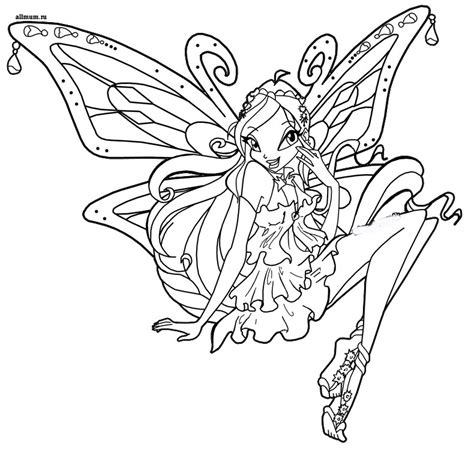 coloring pages winx club winx club coloring pages enchantix az coloring pages