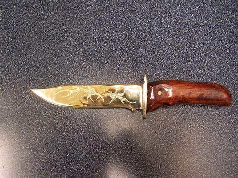 Hand Crafted Bronze Knife by Daniel Mcquestion Fine Art