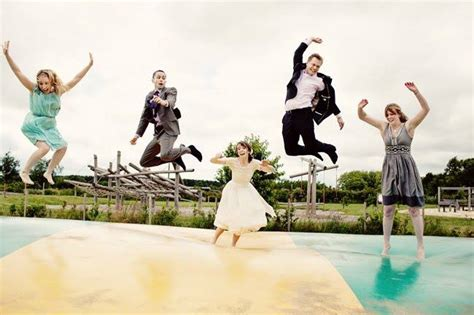 tappeti elastici e non salt il tappeto elastico di nozze un idea geniale firmata