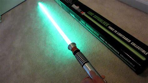 master replicas fx lightsaber master replicas fx lightsaber demo luke skywalker