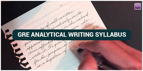 gre analytical section gre analytical writing syllabus topics tips to write