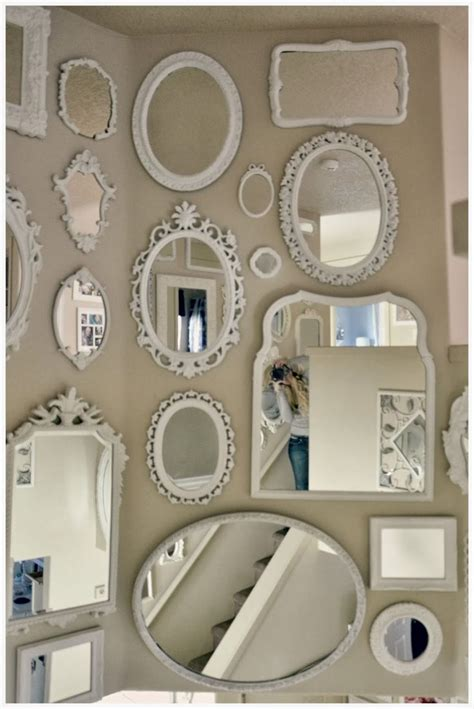 best 20 shabby chic wall decor ideas on 25 best ideas about wall of mirrors on