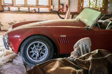 Find In Carolina Barn Find Original Shelby Cobra Unearthed In Carolina