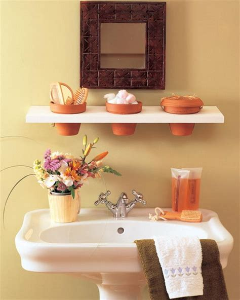 35 Great Storage And Organization Ideas For Small Great Ideas For Small Bathrooms