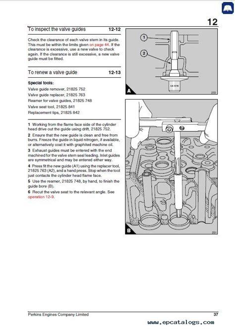 perkins  series engines workshop manual