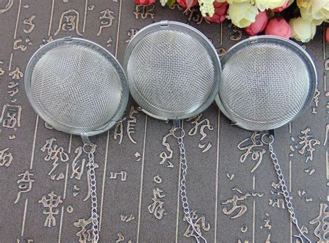 Best Seller Stainless Tea Saringan Teh Bola Tea Filter Tea compre dhl mejor precio 200 unids lote acero inoxidable