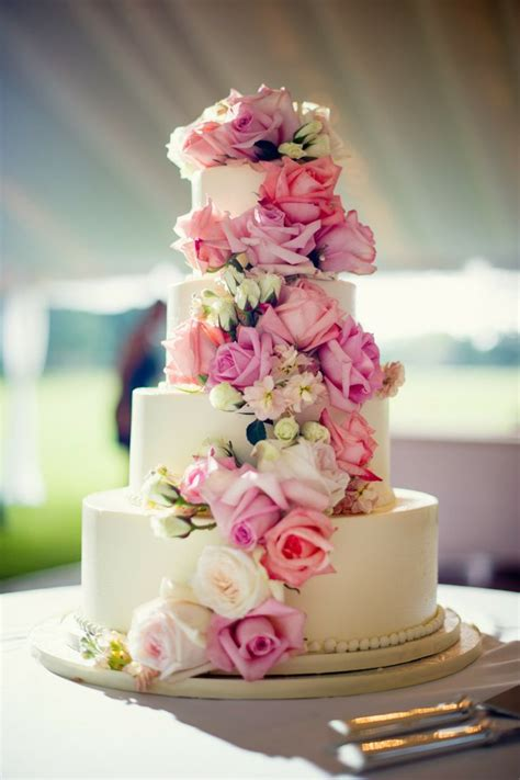 Wedding Cakes Flowers by Real Roses Flower Wedding Cake Mega Wedding